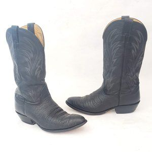 🤠 Nocona Leather Western Boots Size 10 D 🤠
